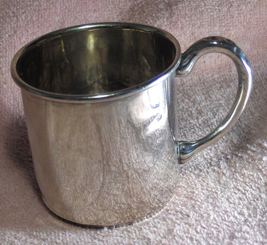 Vintage Sterling Silver Youth's Mug