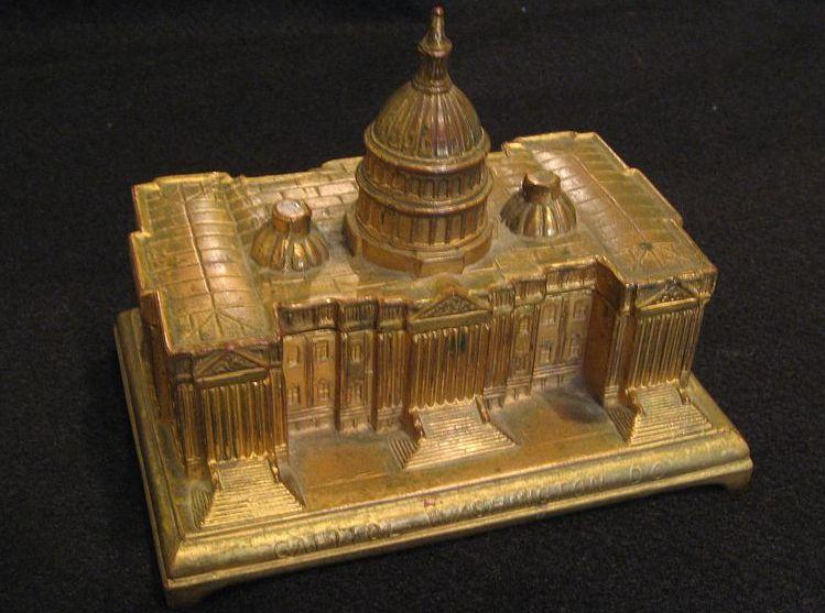 U.S.Capitol Building Washington D.C. Box - Architectural Souvenir