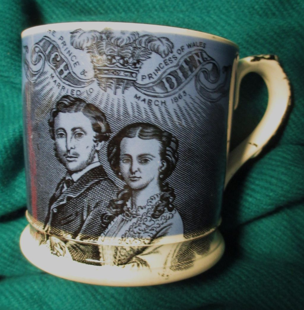 Royal Commemorative Mug 1863 Wedding of the Prince of Wales & Alexandra