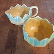 Monterey Art Pottery - Cream & Sugar