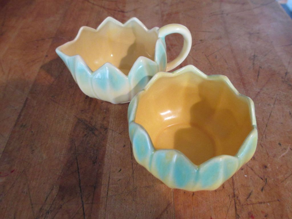 Monterey Art Pottery - Cream & Sugar