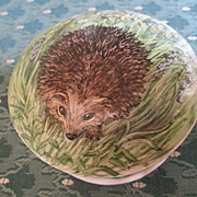 Hedgehog Dresser Jar - Hand Painted & Signed