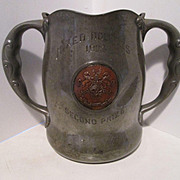 Arts & Crafts 1904 Tennis Trophy - Kebo Valley Club - Bar Harbor, Maine