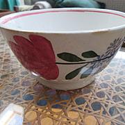 Spatterware Bowl - Staffordshire England