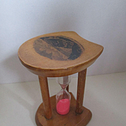 Mauchline Ware Egg Timer - Blackgang Chine, Isle of Wight