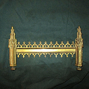Gothic Revival Gilt Bronze Architectural Element - 19th Century