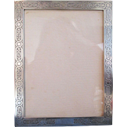 Unusual Early Tiffany & Co. Sterling Frame - Pre 1947