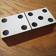 "Box of Miniature Dominoes - 3 1/4"" Box"
