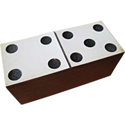 "Box of Miniature Dominoes - 3 1/4"" Box"