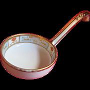 Porcelain Ladle - Hand Painted - Mid Century