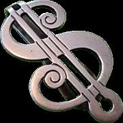 "R. Blackington & Co. ""Dollar Sign"" Money Clip - Sterling Silver"