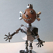 Robot - Cleveland National Screw And MFG. Co. - NAT the Mascot - 1950's