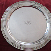 "Heavy 11 3/4"" GORHAM Sterling Tray  ""Princess Patricia"" Pattern - 1928"