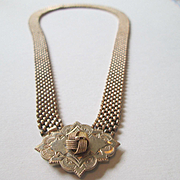 Victorian Necklace with Love Knot - Gold Filled and Beautiful!