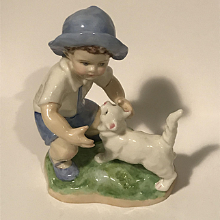 """Royal Worcester Figurine By F. G. Doughty - """"September"""" -3457"""
