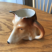 "Sweet Miniature Mug with Collie -2 1/4"" High"