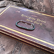 New York City Document / Deed Box - Riverside Drive