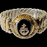 U.S. Navy Insignia Sweetheart Bracelet