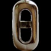 Vintage Heavy Large Sterling Ring