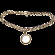 Vintage Pools of Light Charm Bracelet