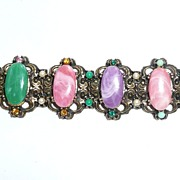 Chunky Colorful Vintage Bracelet
