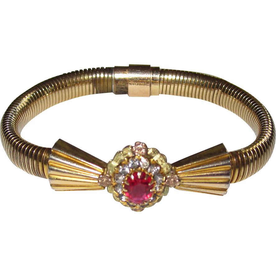 Art Deco Bracelet Ornate