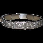 Art Deco Paste Line Bracelet