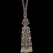 Vintage Delicate Filigree Pendant