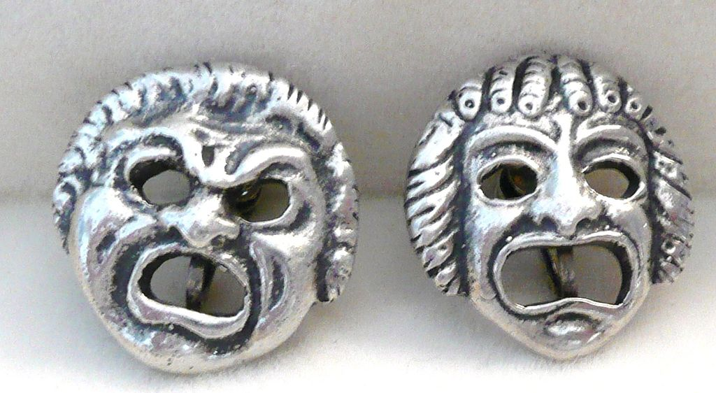 Sterling Gargoyles Florence Earrings
