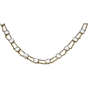 Georgian Paste Riviere Necklace