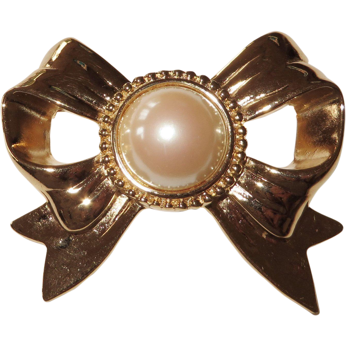 Vintage Givenchy Large Bow Brooch