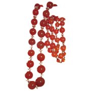 Beautiful Flapper Glass Beads