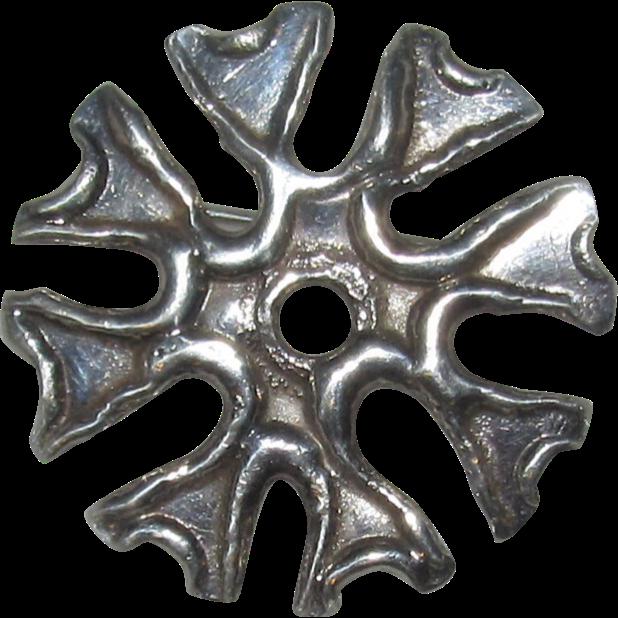 Handmade Sterling Pin