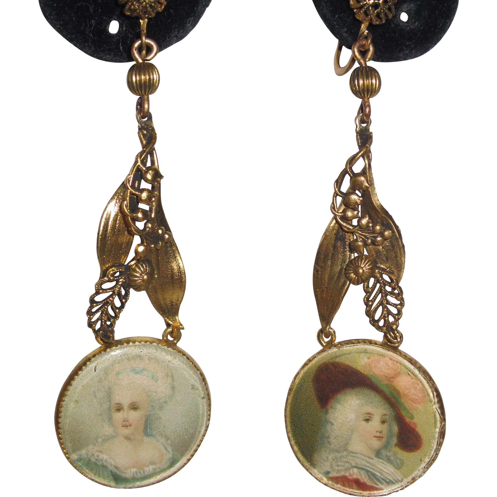 Early hobe portrait earrings lily of the valley from for Fashion valley jewelry stores