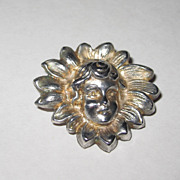Art Nouveau Sterling Pin
