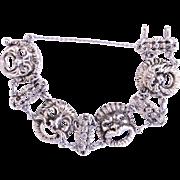 Italy Souvenir Bracelet  Gothic Faces