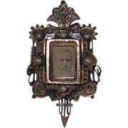 Large Victorian Slide Locket