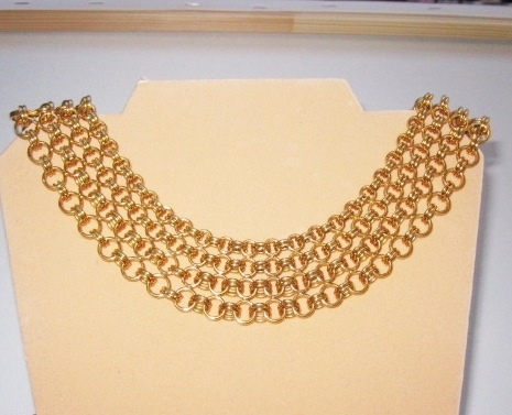 Huge Vintage Runway Monet Collar Necklace