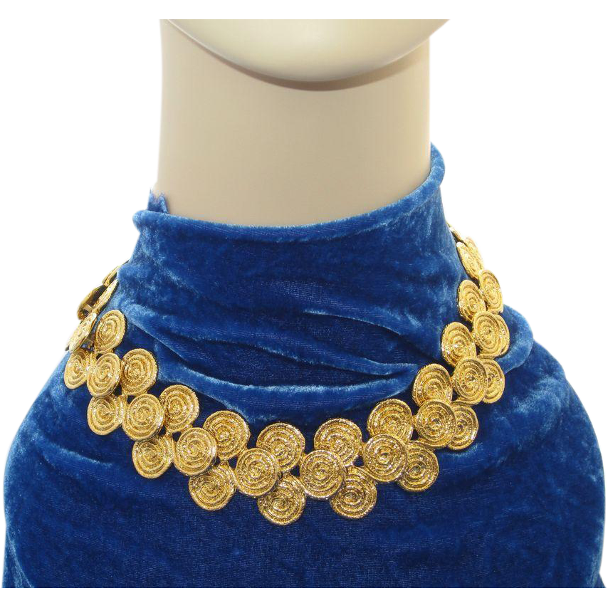 Bright Lovely Wide Necklace