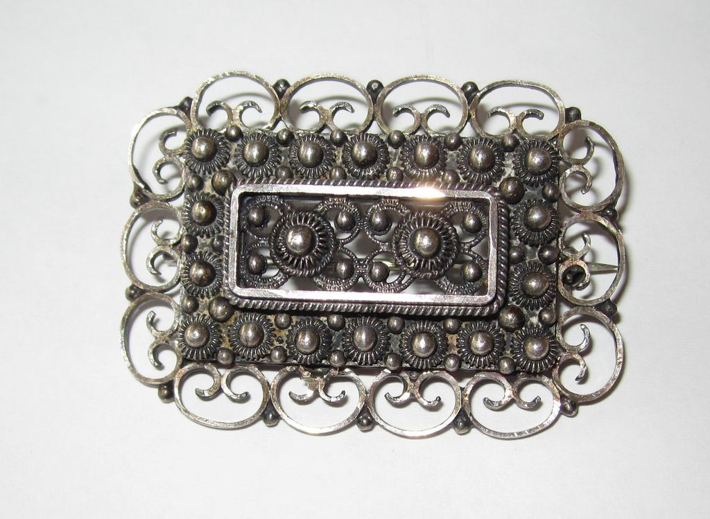Early Norway Sterling Brooch