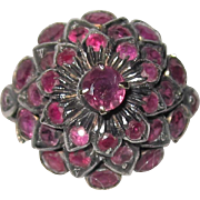 Vintage Ruby Thai Princess Ring