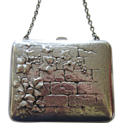 Vintage Silver Plated Coin Purse