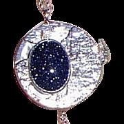 Modern Silver Pendant Necklace