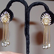 Pretty Vintage Clip Earrings
