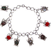 Vintage Tea Time Charm Bracelet Nuvo Charms