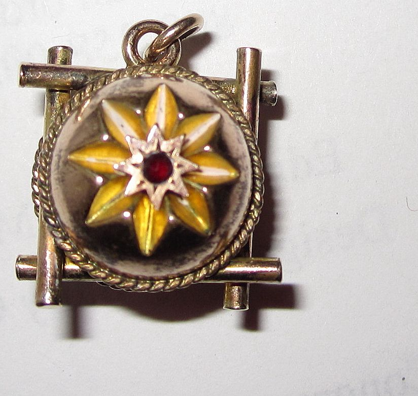 Victorian Fob Gold Plated Fancy