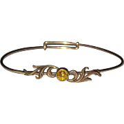 Victorian Expandable Bangle Bracelet