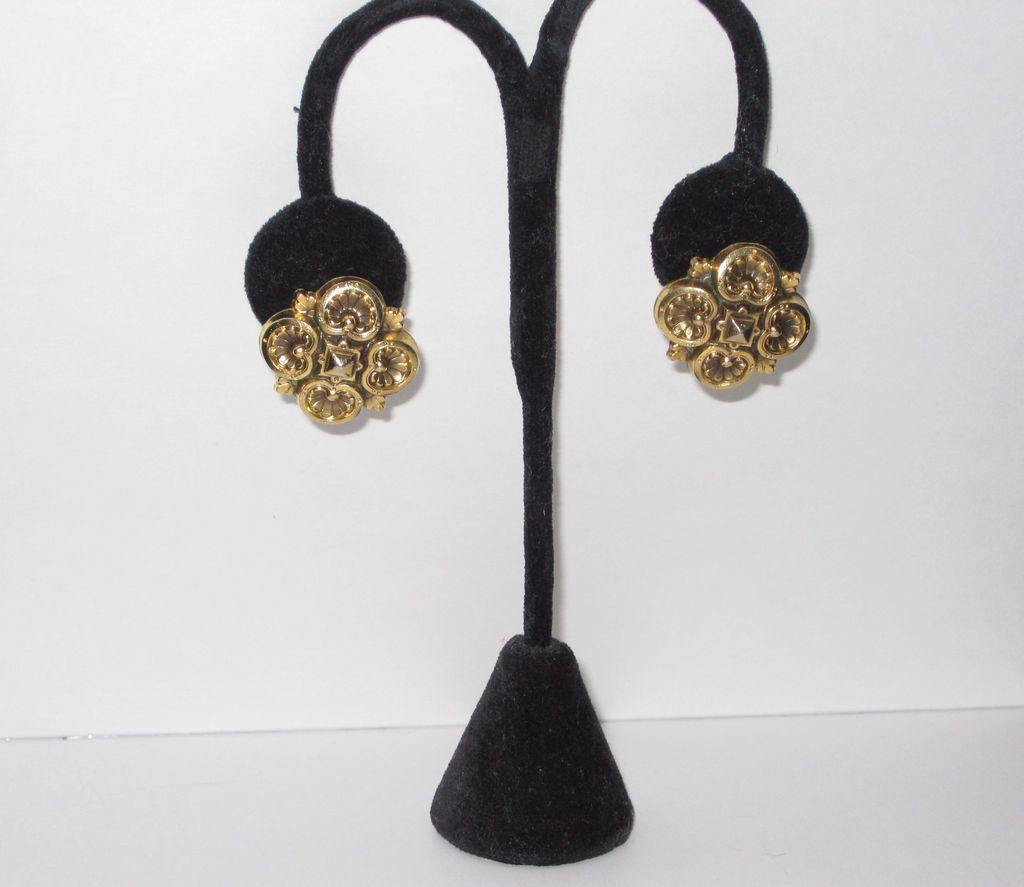 Yves St Laurent YSL Vintage Earrings