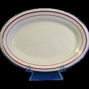 Sterling China Desert Tan Small Oval Platter