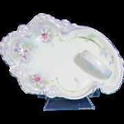 Hand Painted Porcelain Lemon Server